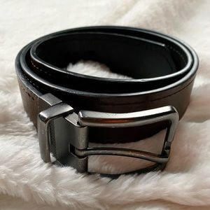 GUC Men's Levi's Brown Faux Leather Belt Size M